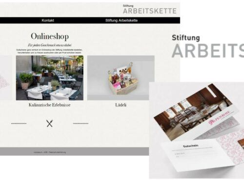 "Success-Story Onlineshop ""Stiftung Arbeitskette"""